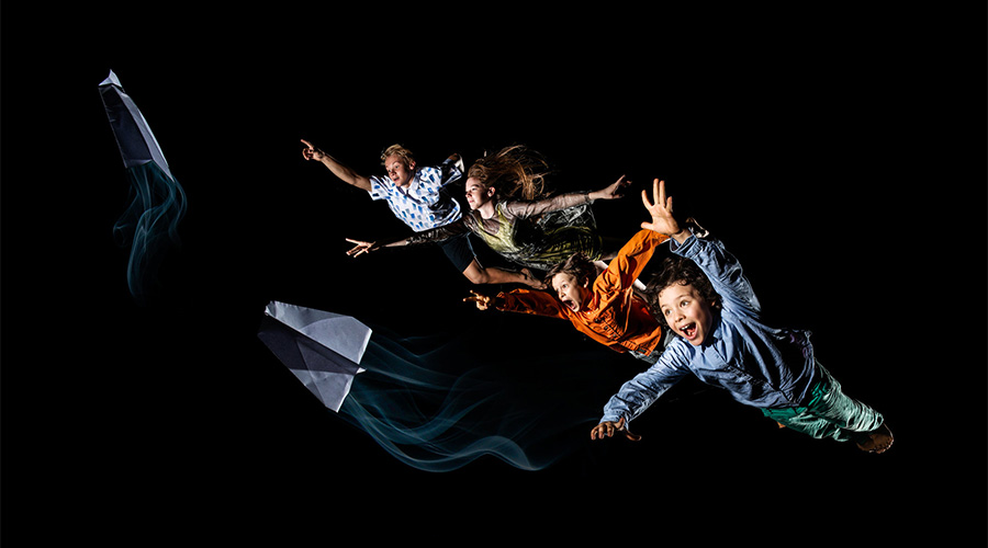 Flipside Circus - Stories from the Sky at JWCOCA