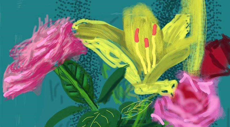 David Hockney: Current Exhibition at the National Gallery of Victoria