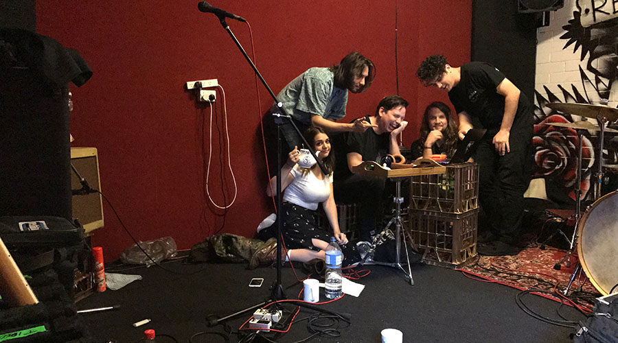 Tired Lion Recording Debut Album