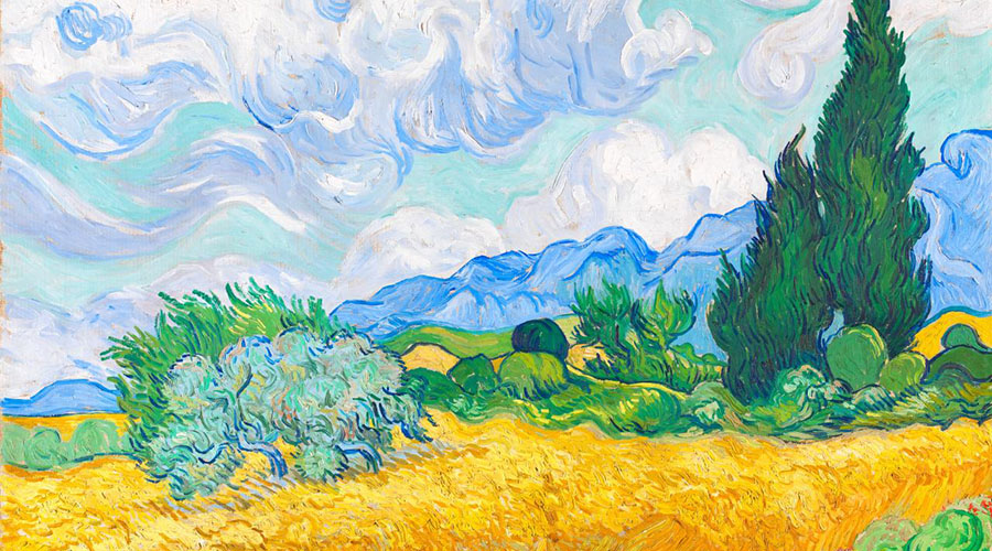 Van Gogh and the Seasons Exhibition at NGV