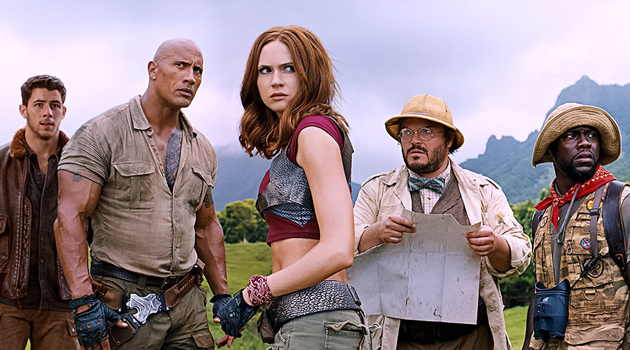 Watch the New Jumanji: Welcome to the Jungle Trailer