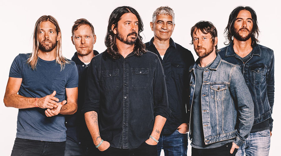 Foo Fighters Concrete And Gold Australian Tour