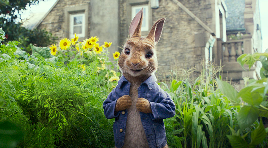 Watch the New trailer for Peter Rabbit!
