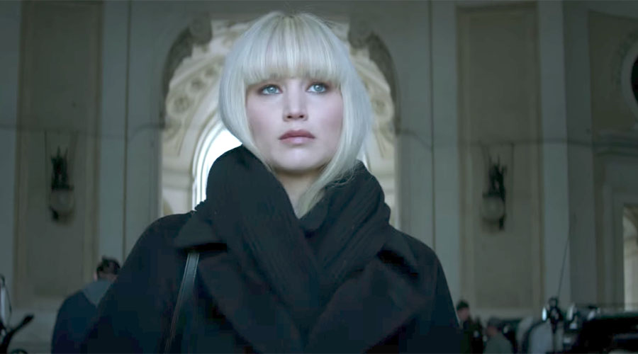 Watch the New Trailer for Red Sparrow starring Jennifer Lawrence & Joel Edgerton