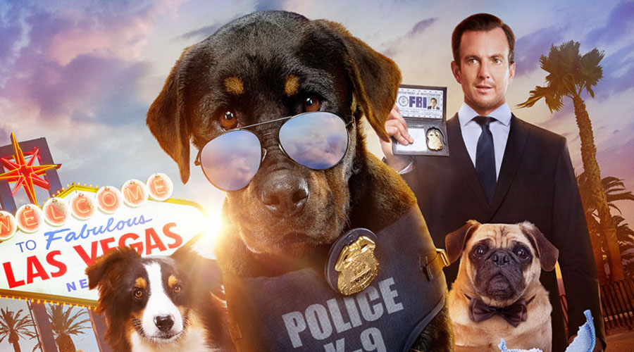 Watch Will Arnett and Ludacris buddy-up in the new Show Dogs trailer!