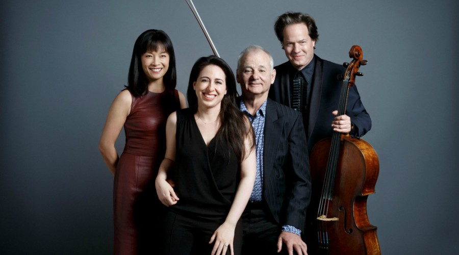 Bill Murray, Jan Vogler and Friends, New Worlds Tour!