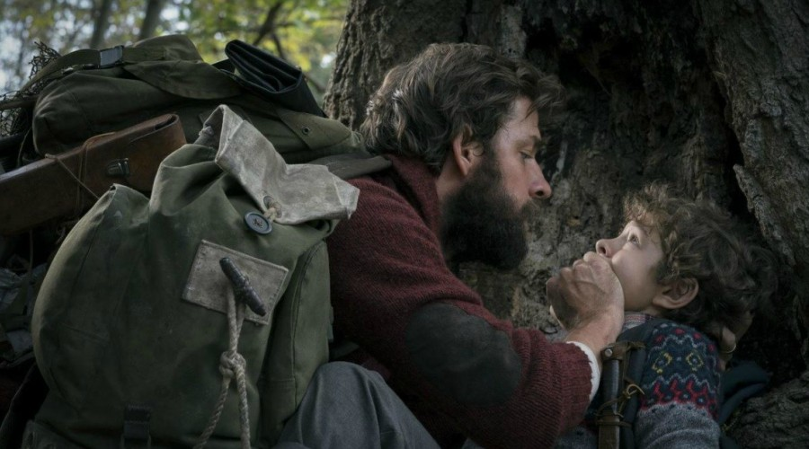 Watch the chilling trailer for John Krasinski's new movie A Quiet Place!