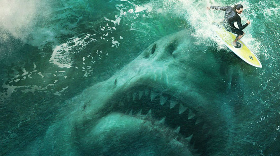 "Watch Jason Statham Takes On ""The Largest Shark That Ever Lived"" In The Meg Trailer"