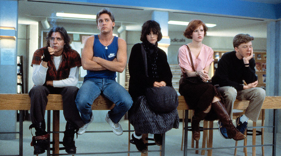 Retro screening of The Breakfast Club at Dendy Coorparoo!