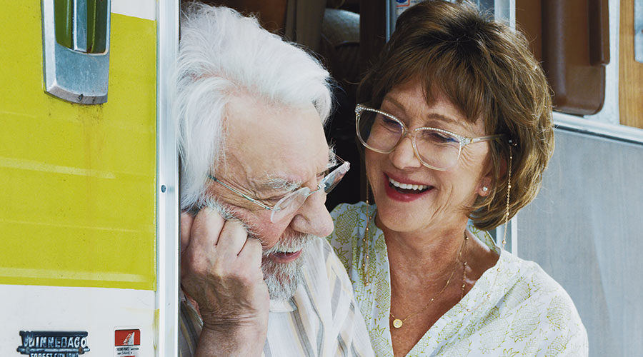 Win a Double Pass to see Helen Mirren's new film The Leisure Seeker!