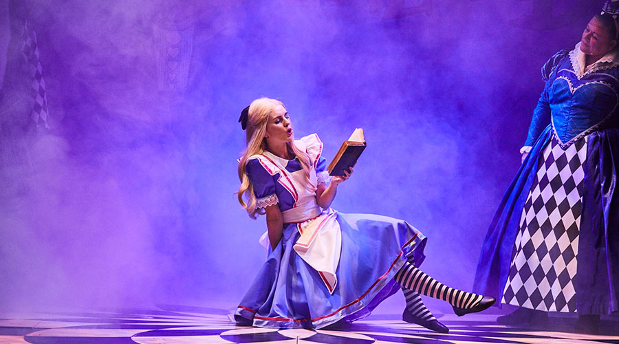 Watch Alice in Wonderland live on stage this month!