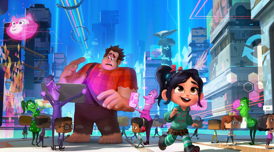 Disney's Ralph Breaks the Internet: Wreck-it Ralph 2 Trailer - In Cinemas Boxing Day!