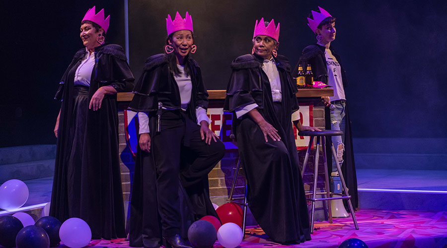 Lysa and the Freeborn Dames Theatre Review