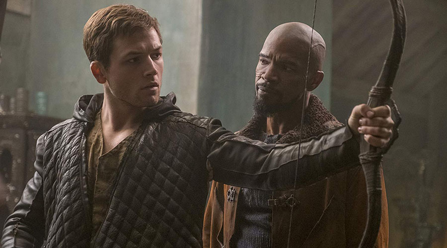 Check out the new trailer for Robin Hood starring Taron Egerton and Jamie Foxx!