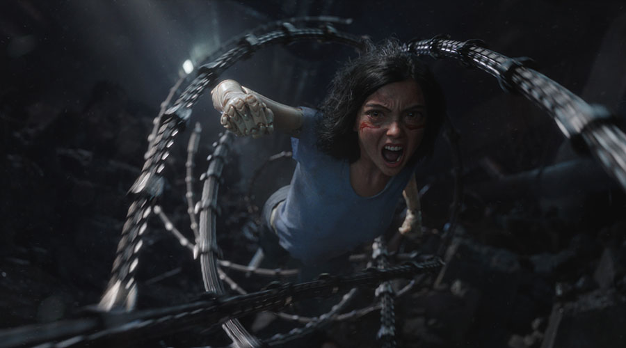 Check out the new trailer for Alita: Battle Angel!