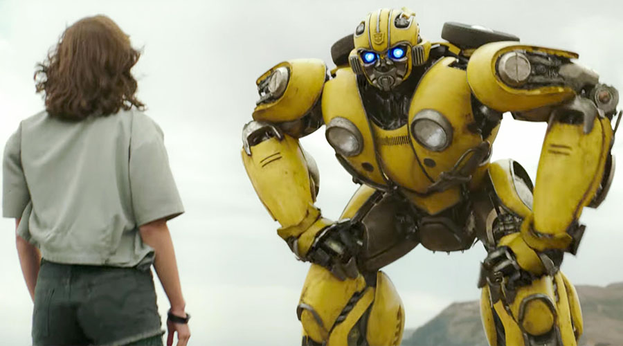 Check out the new Bumblebee trailer - buzzing into cinemas December 20!