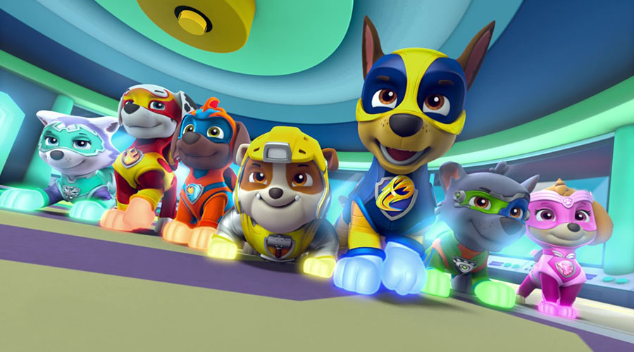 Check out the new trailer for Paw Patrol: Mightly Pups!