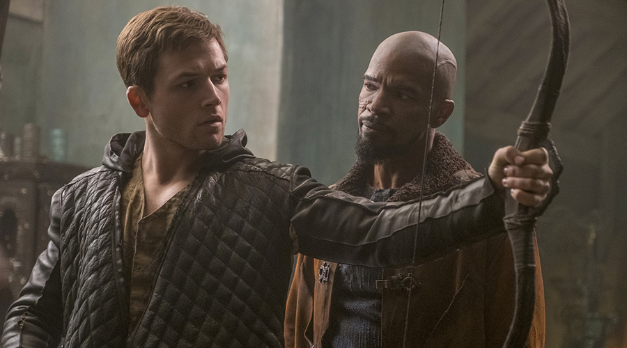 Win tickets to Robin Hood starring Jamie Foxx, Taron Egerton!