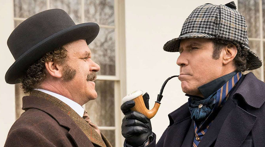 See Will Ferrell and John C. Reilly in the new trailer Holmes & Watson — in cinemas Boxing Day!