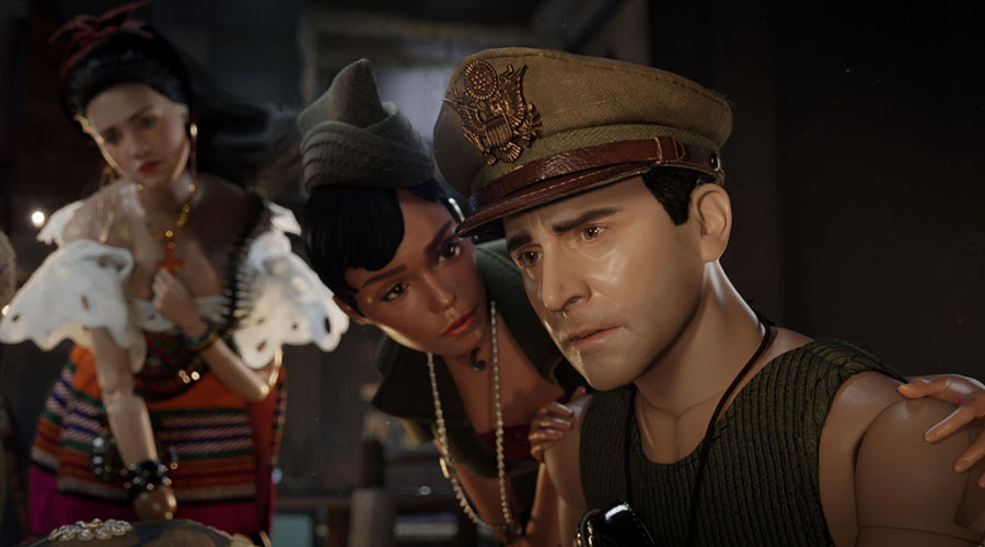 Watch the new trailer for Welcome to Marwen - starring Steve Carell!