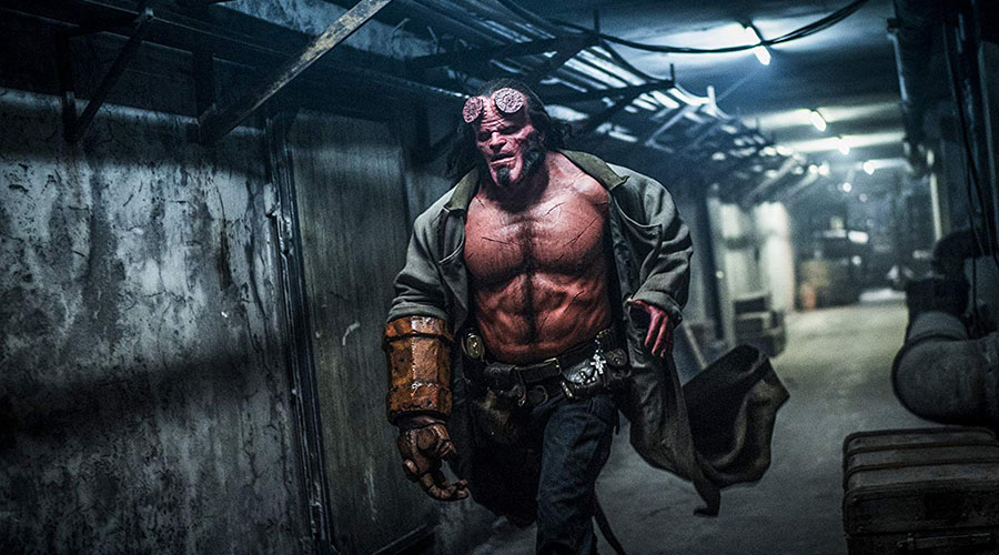 Watch the official trailer for Hellboy!