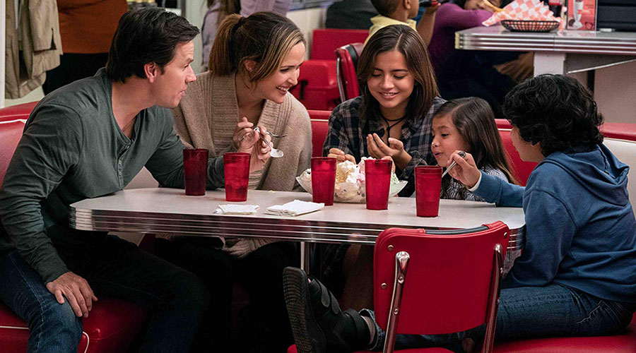 Watch an all new clip from Instant Family starring Mark Wahlberg, Rose Byrne & Isabela Moner!