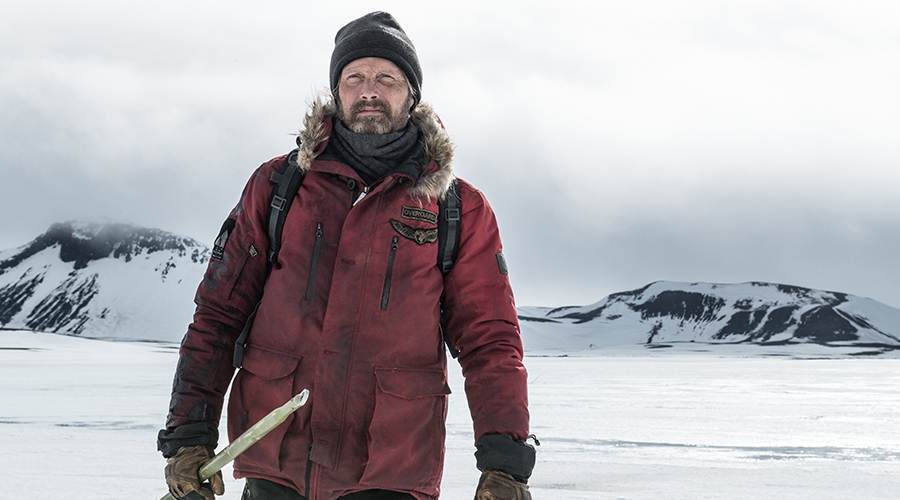 Win a double pass to see Artic starring Mads Mikkelsen - in cinemas February 14
