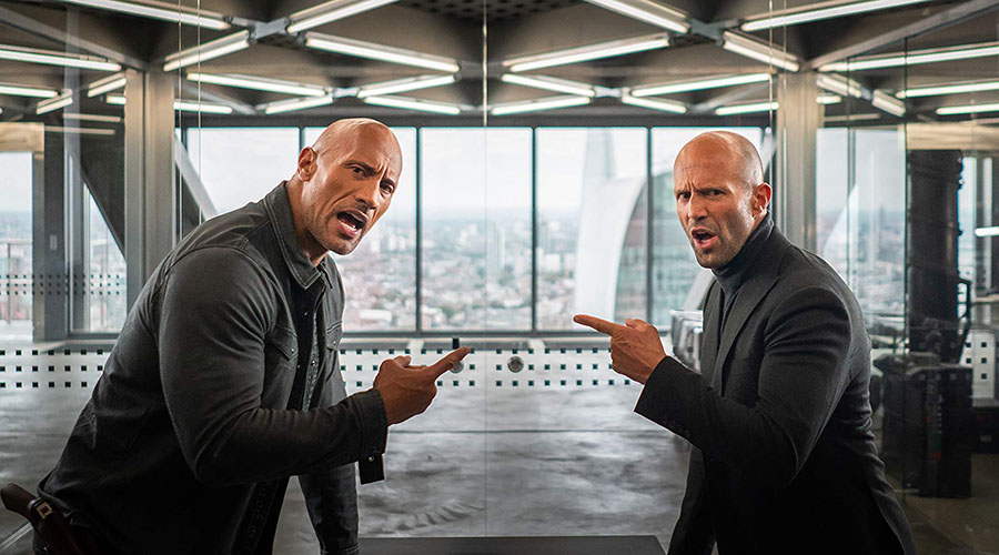 Watch the first trailer for Fast & Furious: Hobbs & Shaw