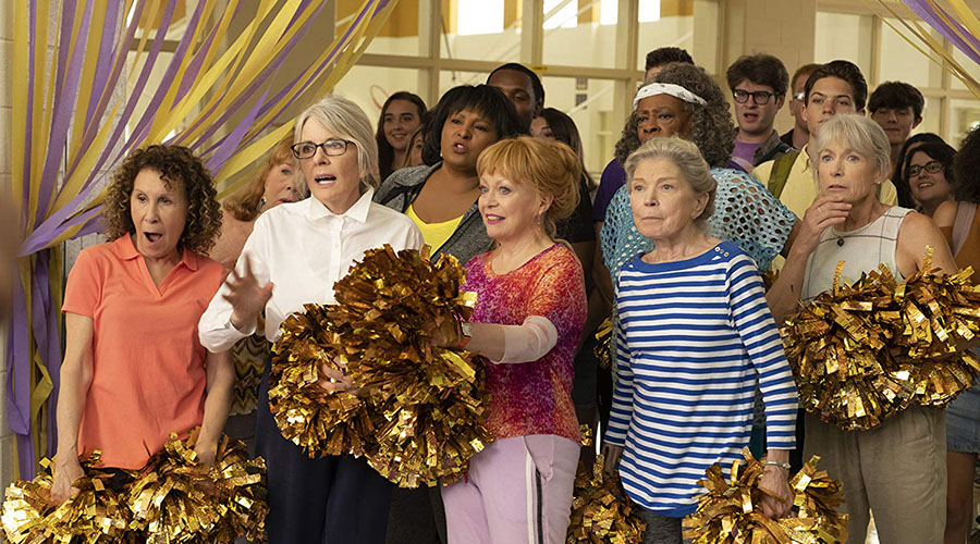Watch the hilarious official trailer for Poms starring Jacki Weaver!