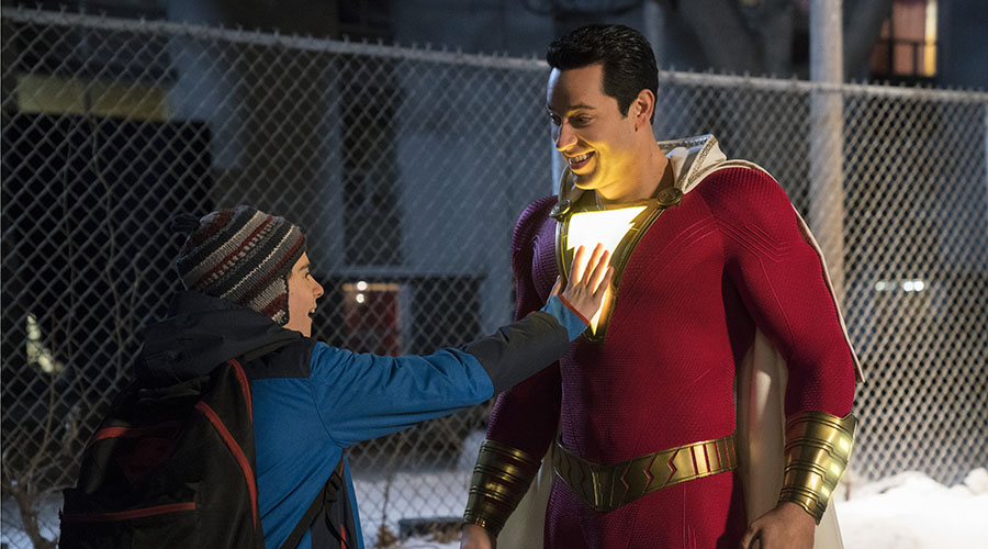 Meet SHAZAM! in Australian cinemas April 4!