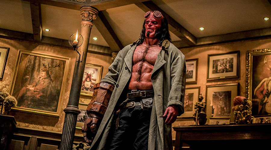 Here is the brand new Hellboy trailer - in Australian cinemas April 11!
