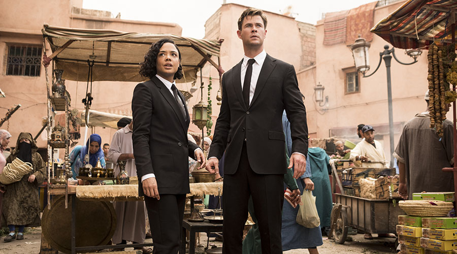 Watch the new trailer for Men in Black International!