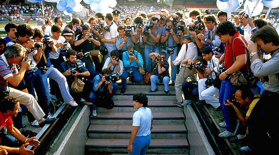 Check out the official trailer for Diego Maradona!