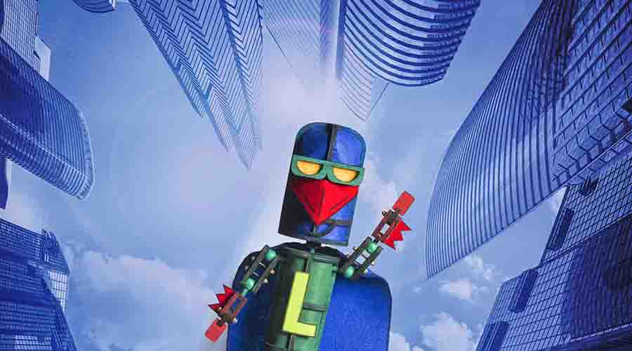 Laser Beak Man is coming to QPAC this October!