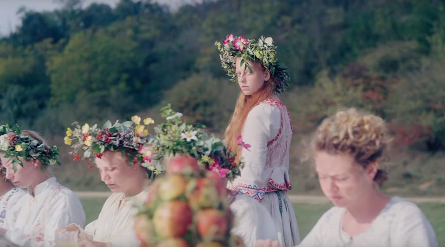 Check out the official trailer for the upcoming thriller Midsommar!