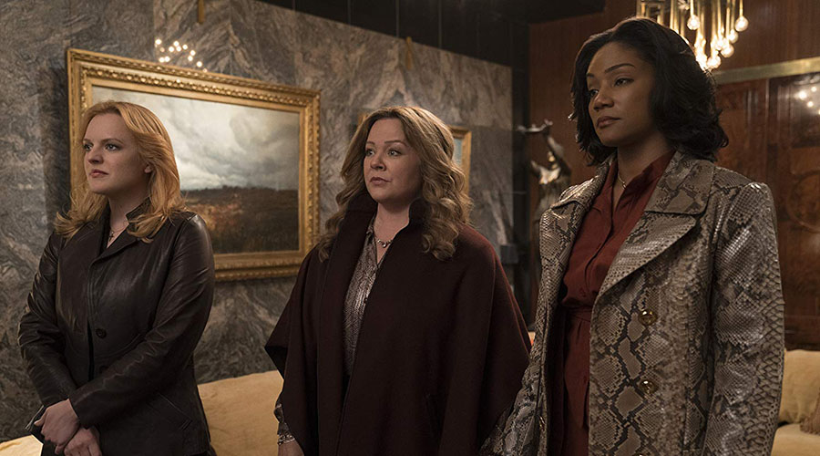Watch the official trailer for The Kitchen starring Melissa McCarthy, Tiffany Haddish, and Elisabeth Moss!