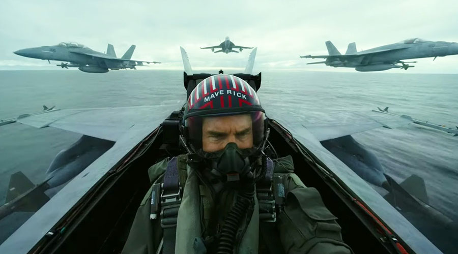 Watch the first official teaser trailer for Top Gun: Maverick!