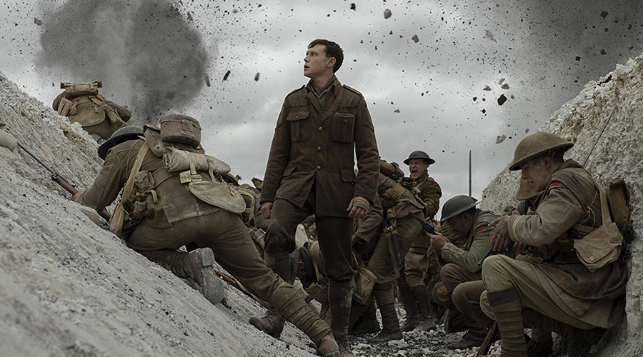 Watch the trailer for 1917, a World War I epic directed by Oscar®-winner Sam Mendes!