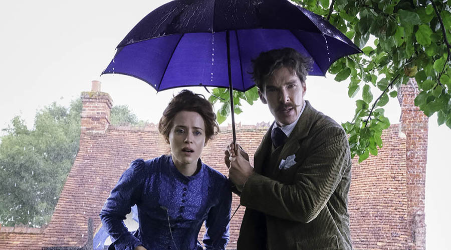 Check out this first look at Benedict Cumberbatch and Claire Foy in Louis Wain!
