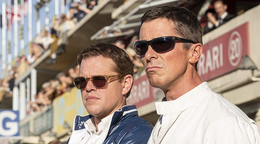Watch the trailer for FORD v FERRARI starring Matt Damon and Christian Bale!