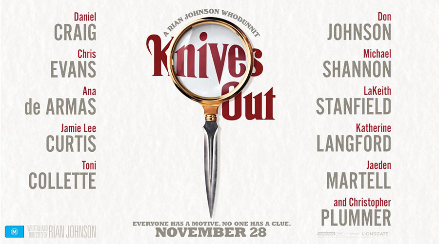 Win tickets to a very special screening of Knives Out!