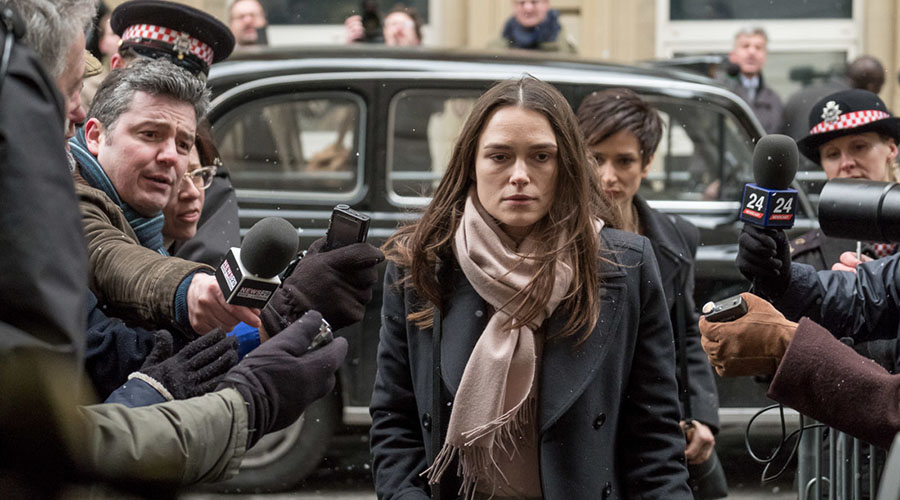 Check out the trailer for Official Secrets starring Keira Knightley!