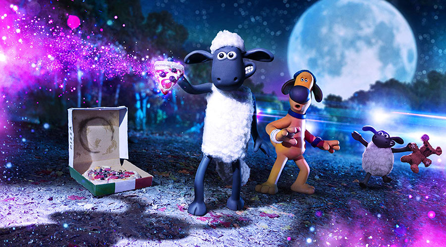 Watch the trailer for A Shaun The Sheep Movie: Farmageddon - in cinemas January 9!