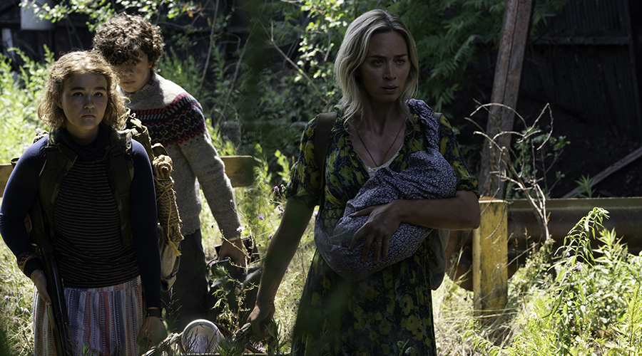 Watch the first look fottage from the upcoming A Quiet Place II