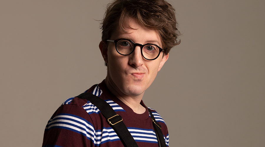Comedian James Veitch is returning to Australia!
