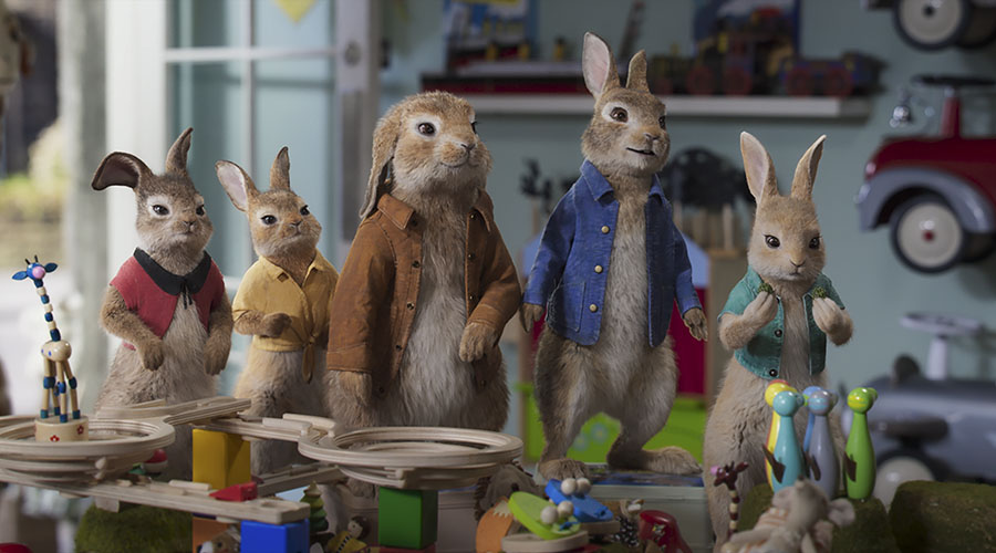 Watch the new trailer for Peter Rabbit 2 - in cinemas March 19!