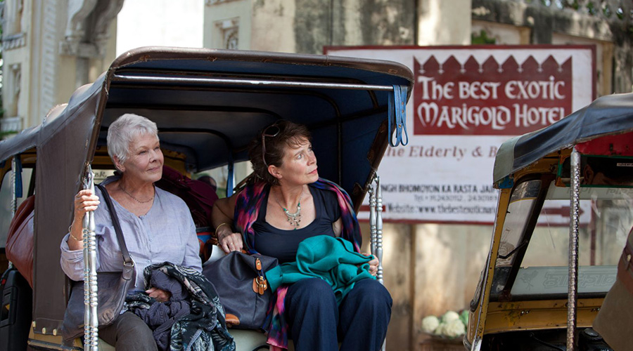Retro Movie Review - The Best Exotic Marigold Hotel