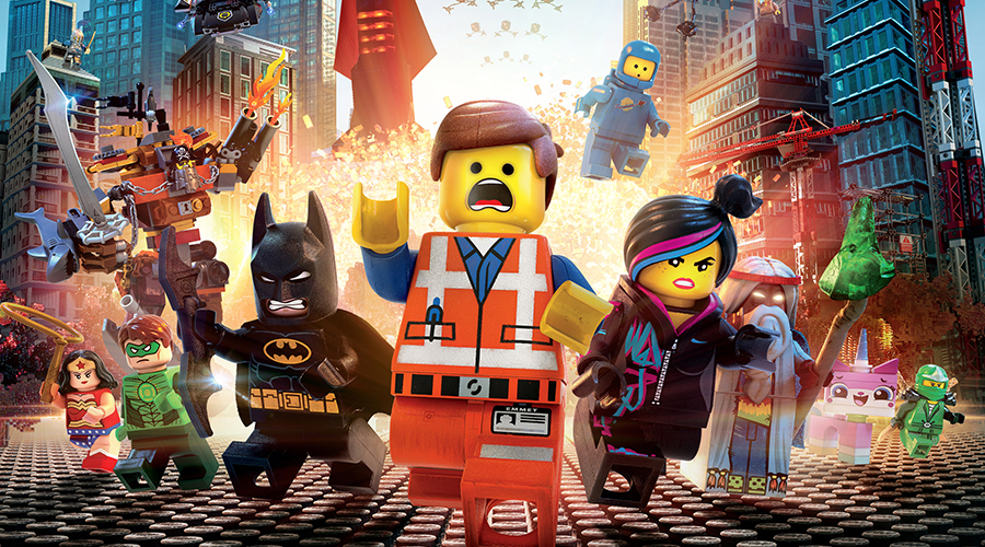 Retro Movie Review - The Lego Movie