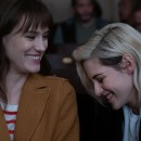Check out the first look images from Happiest Season - starring Kristen Stewart and Mackenzie Davis!