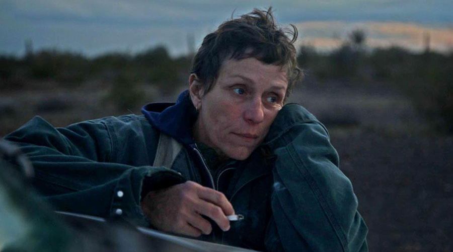 Watch the trailer for Nomadland starring Frances McDormand!